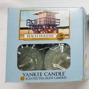 Yankee Candle BEACH HOLIDAY Tealights